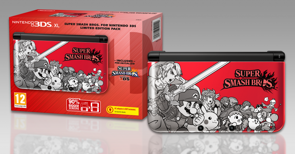 Special Edition 3DS Super Smash Bros