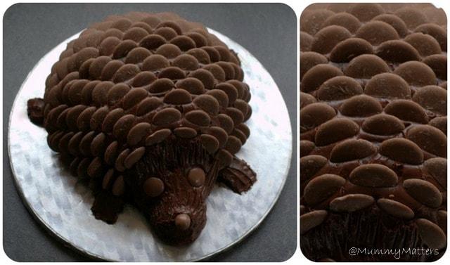 Peachy Delicious Hedgehog Birthday Cake Mummy Matters Funny Birthday Cards Online Inifodamsfinfo