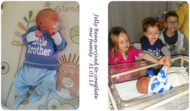 Tips for introducing a new baby to older siblings 1