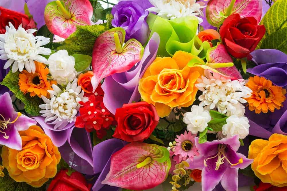 Flowers via Shutterstock