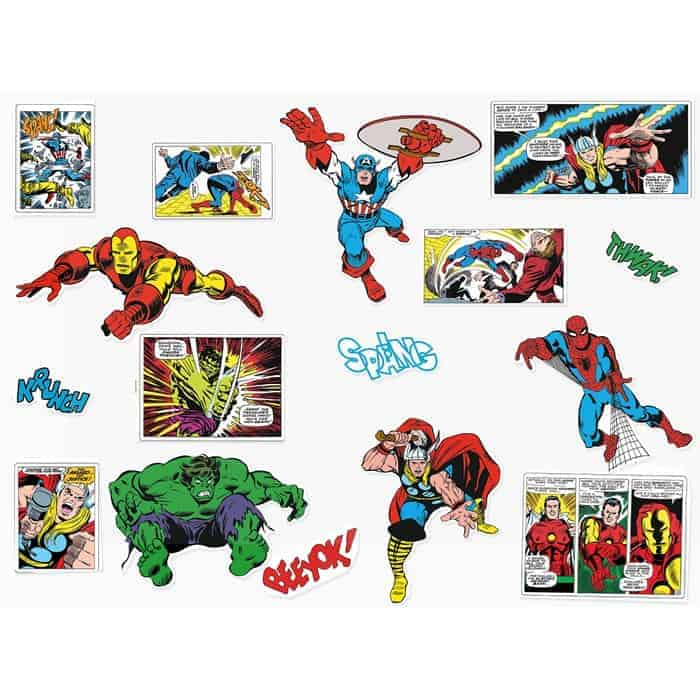 Marvel Wall Stickers