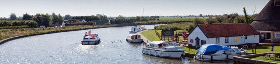 Acle Bridge Boats