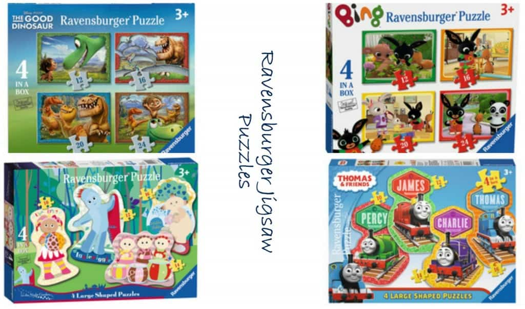 ravensburger jigsaw puzzles - Christmas Gift For 3 Year Old Boy