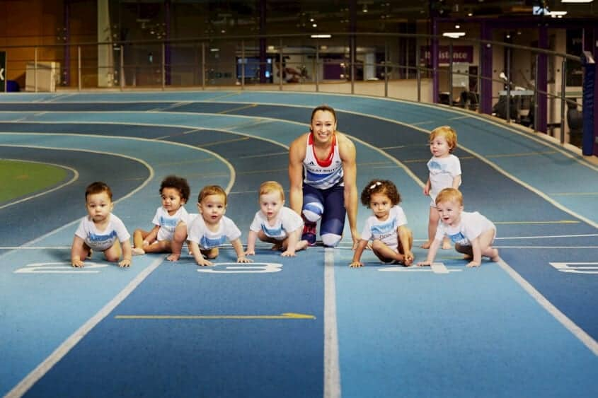 Jessica Ennis Pampers Little Champions