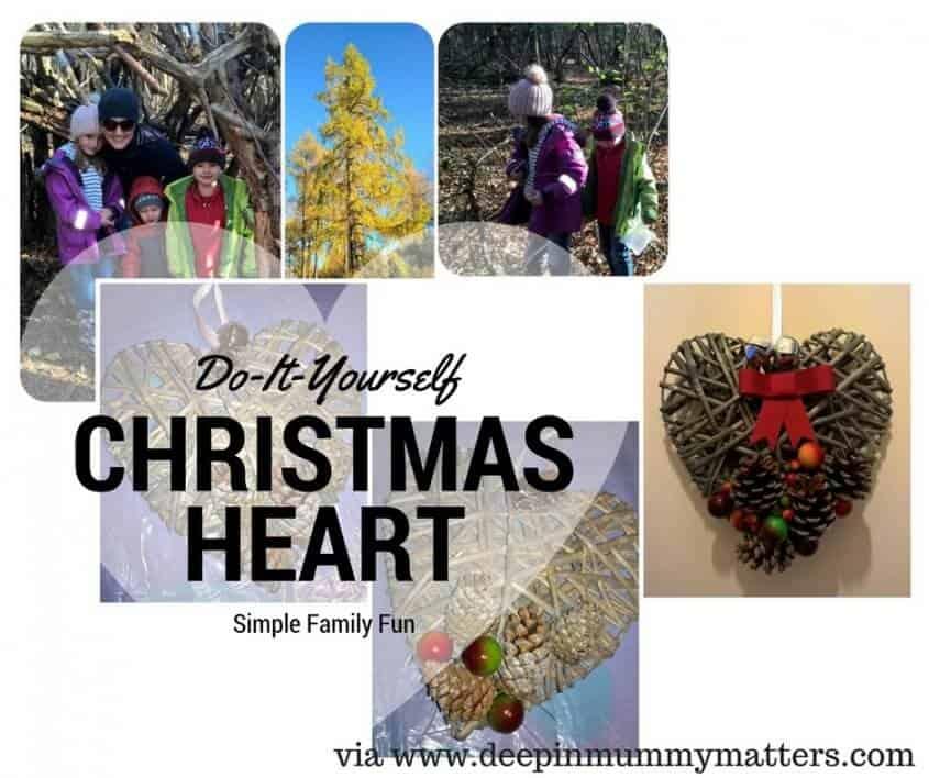DIY Christmas Heart