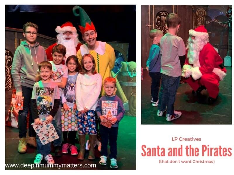 Santa and the Pirates