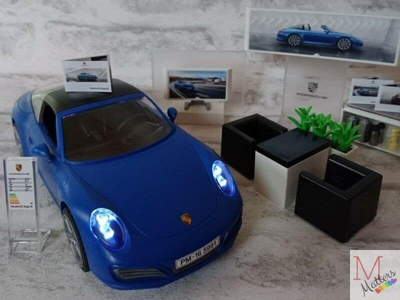 unboxing the playmobil porsche 911 targa 4s mummy matters. Black Bedroom Furniture Sets. Home Design Ideas
