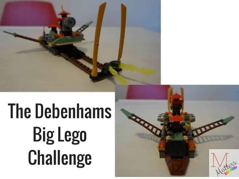 Debenhams Big Lego Challenge