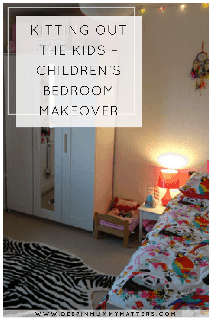 KITTING OUT THE KIDS – CHILDREN'S BEDROOM MAKEOVER