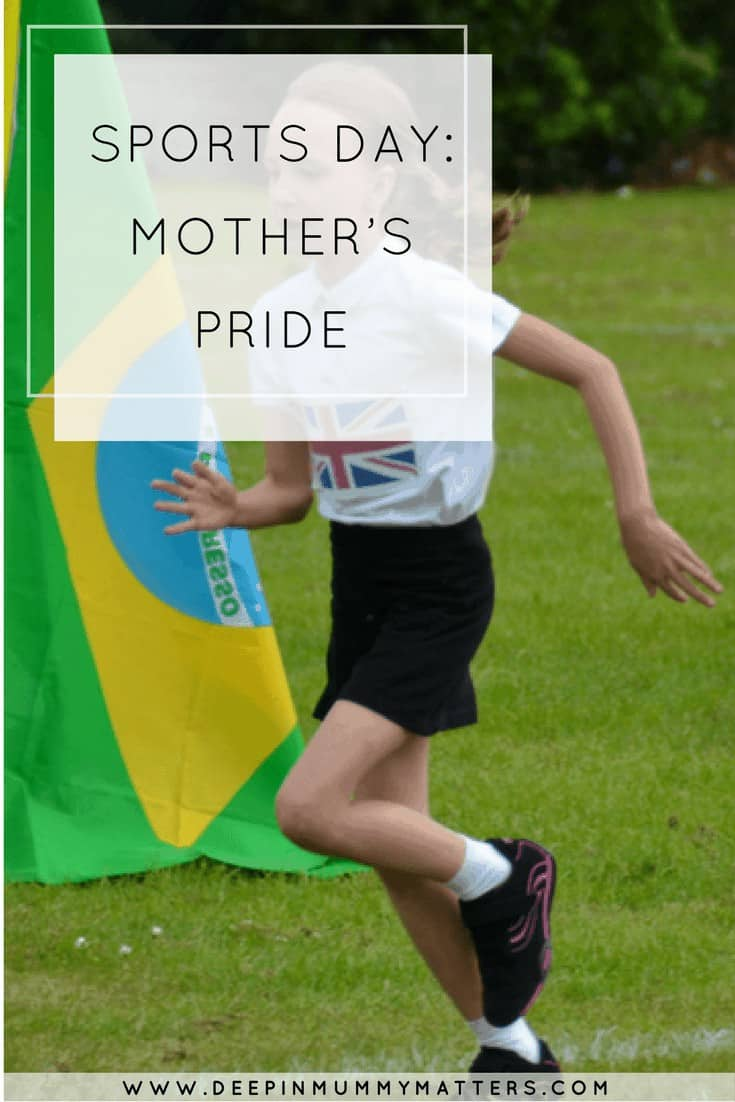 SPORTS DAY: MOTHER'S PRIDE