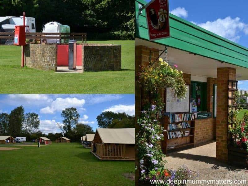 Cambridge Camping and Caravanning Club Site