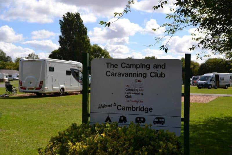Cambridge Camping and Caravanning Club