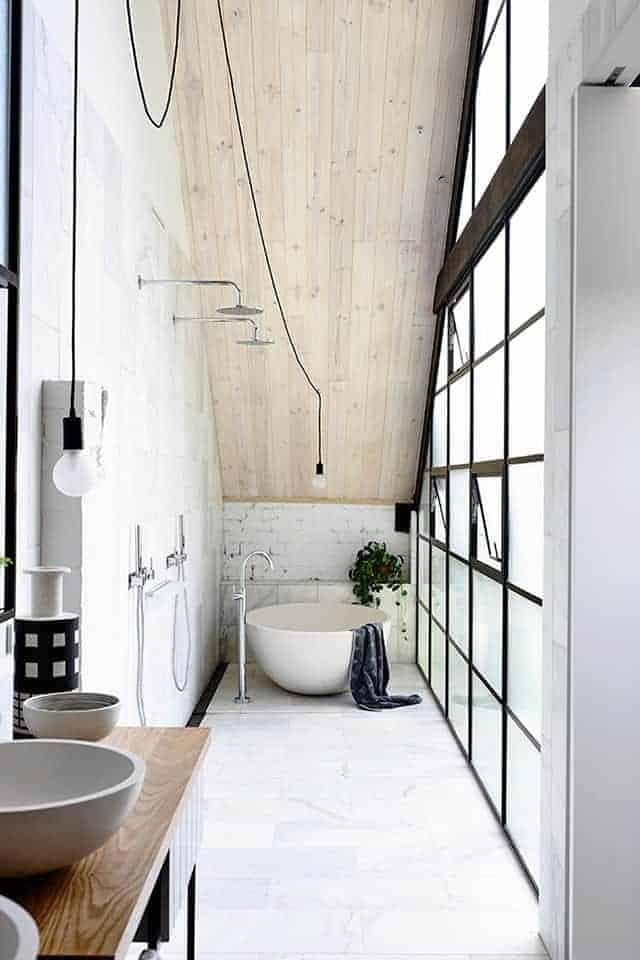 Scandinavian Bathroom ...