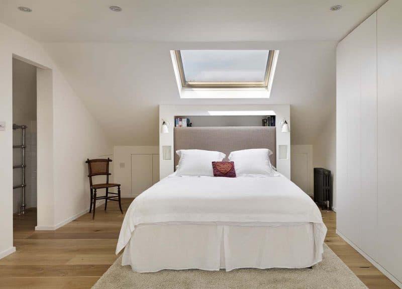 Loft bedroom storage