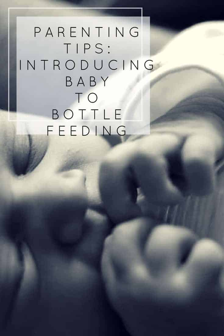 Do you need to leave your baby with a bottle but don't know how? Here are our parenting tips on introducing baby to bottle feeding