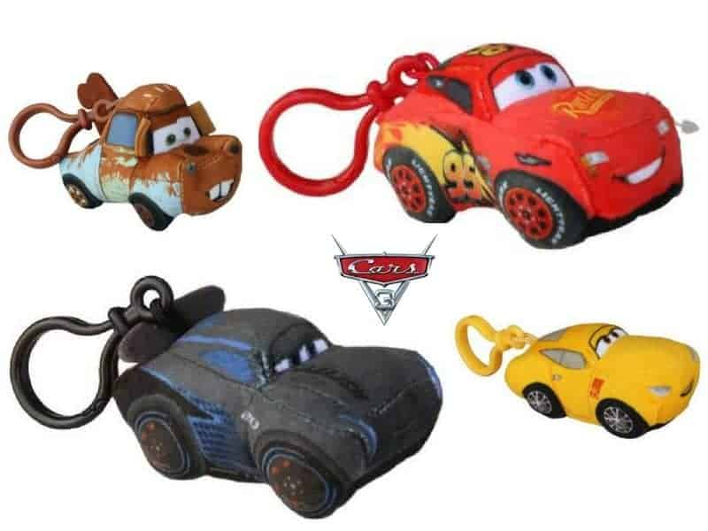 Disney Cars 3 Bag Clips