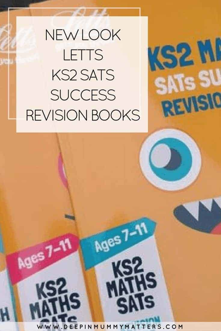 NEW LOOK LETTS KS2 SATS SUCCESS REVISION BOOKS