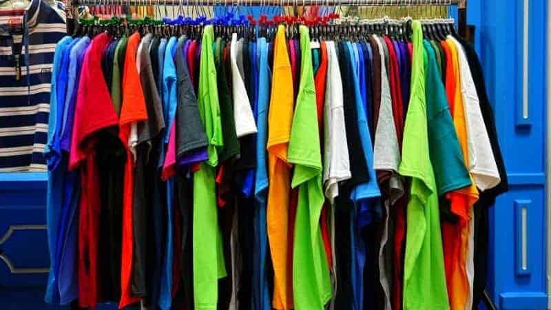 coloured shirts