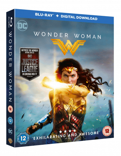 Wonder Woman Blu-Ray + Digital Download