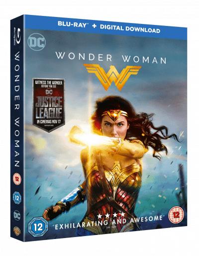 Wonder Woman Blu-Ray + Digital Download