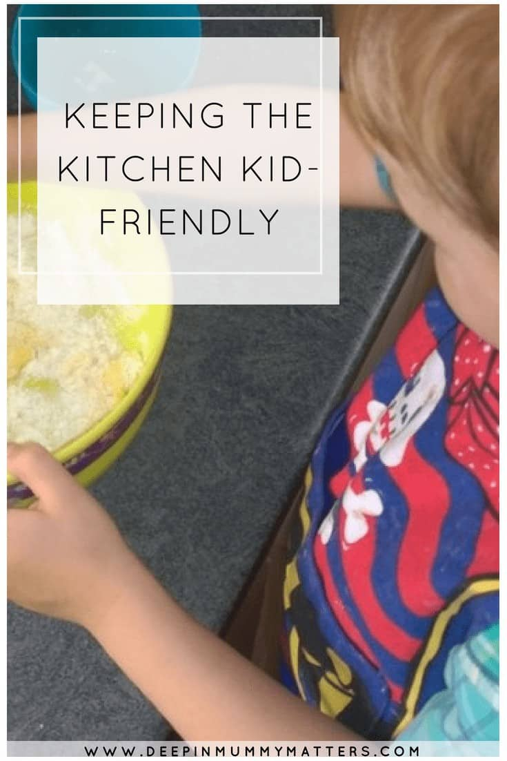 KEEPING THE KITCHEN KID-FRIENDLY