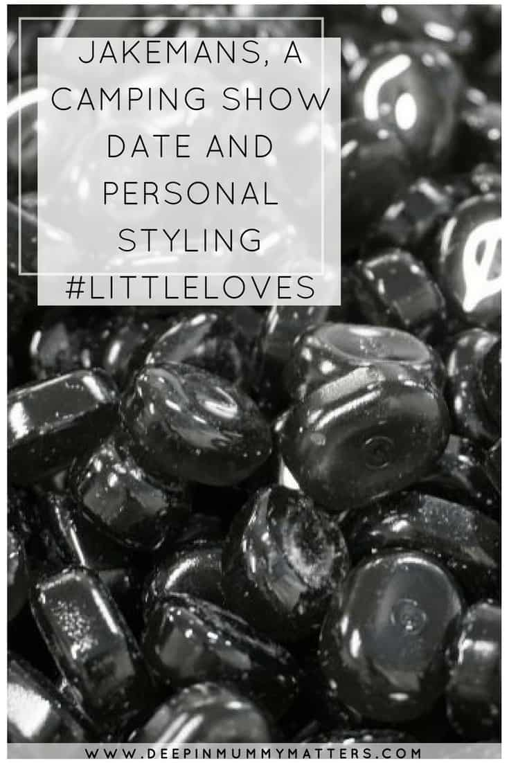 Jakemans, a Camping Show Date and Personal Styling #LittleLoves