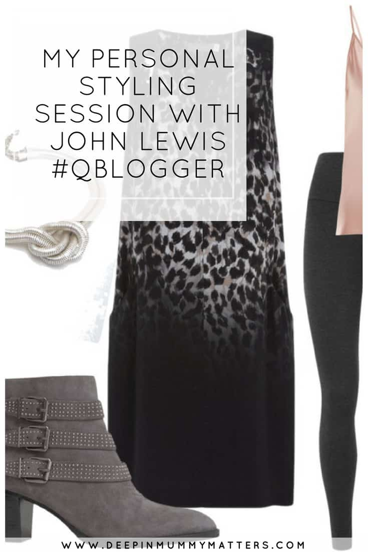MY PERSONAL STYLING SESSION WITH JOHN LEWIS #QBLOGGER