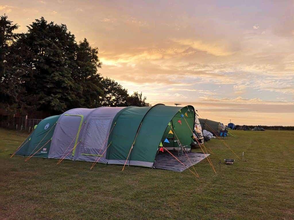 Coleman Air tent