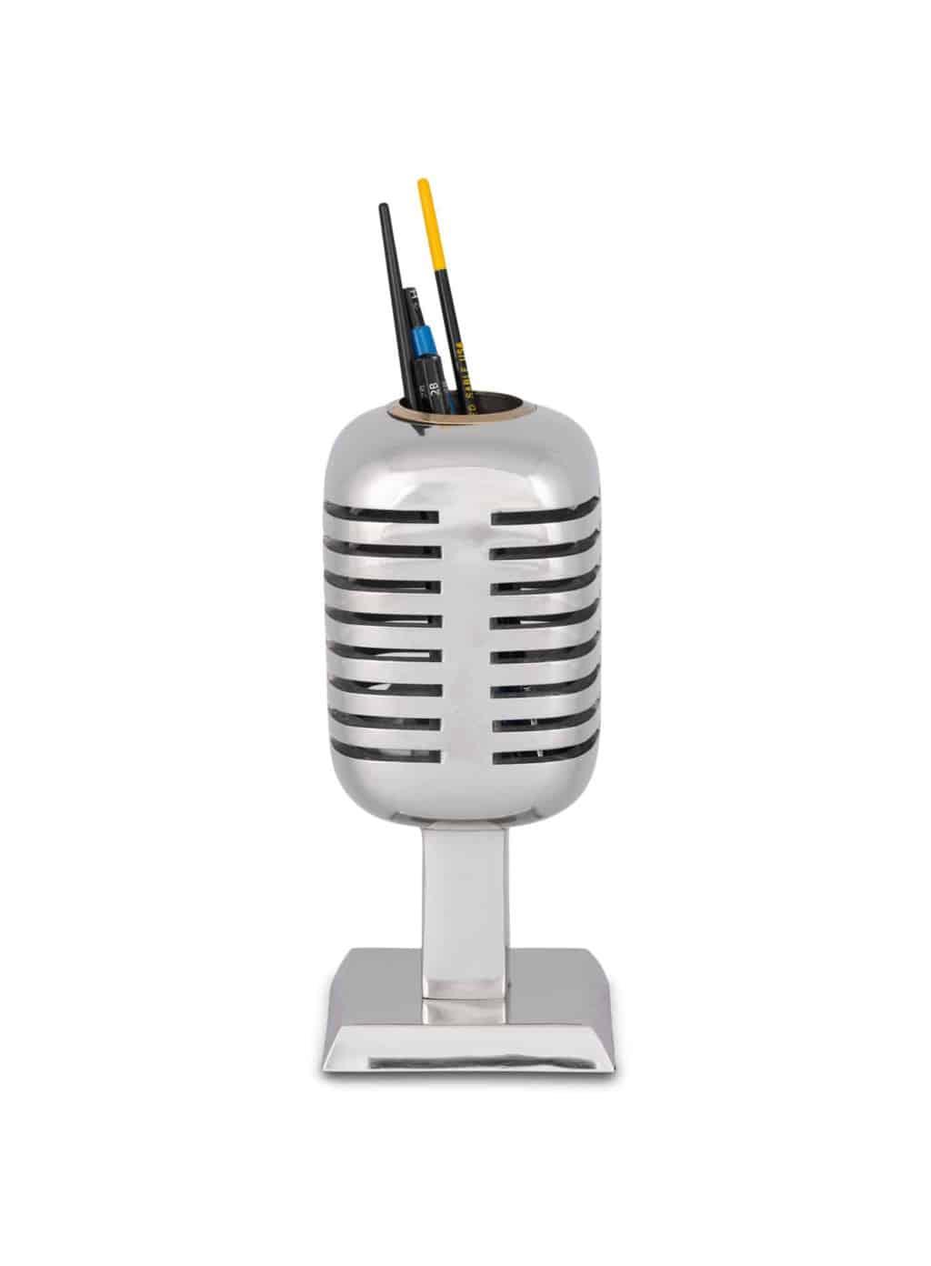 RADIO CITY MICROPHONE PENCIL HOLDER