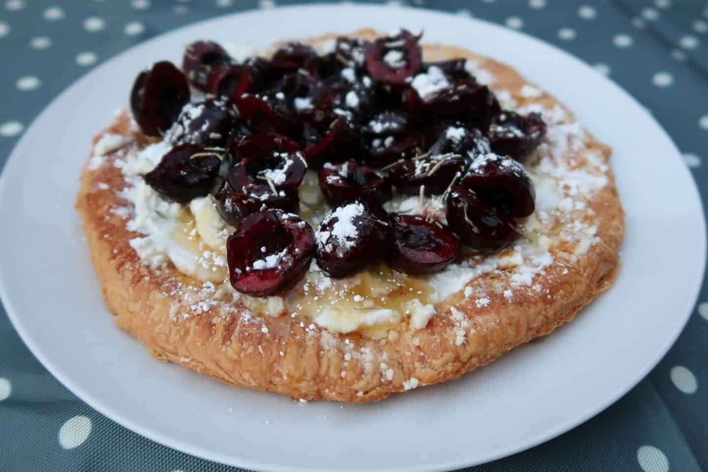 Cherry and Ricotta Galette
