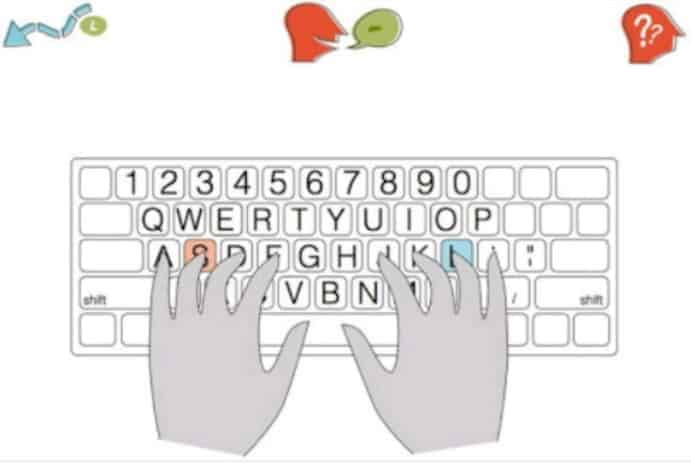 Kids Learning Typing