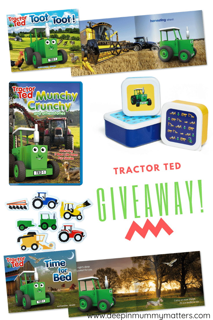 Tractor Ted Goodies Bundle Giveaway