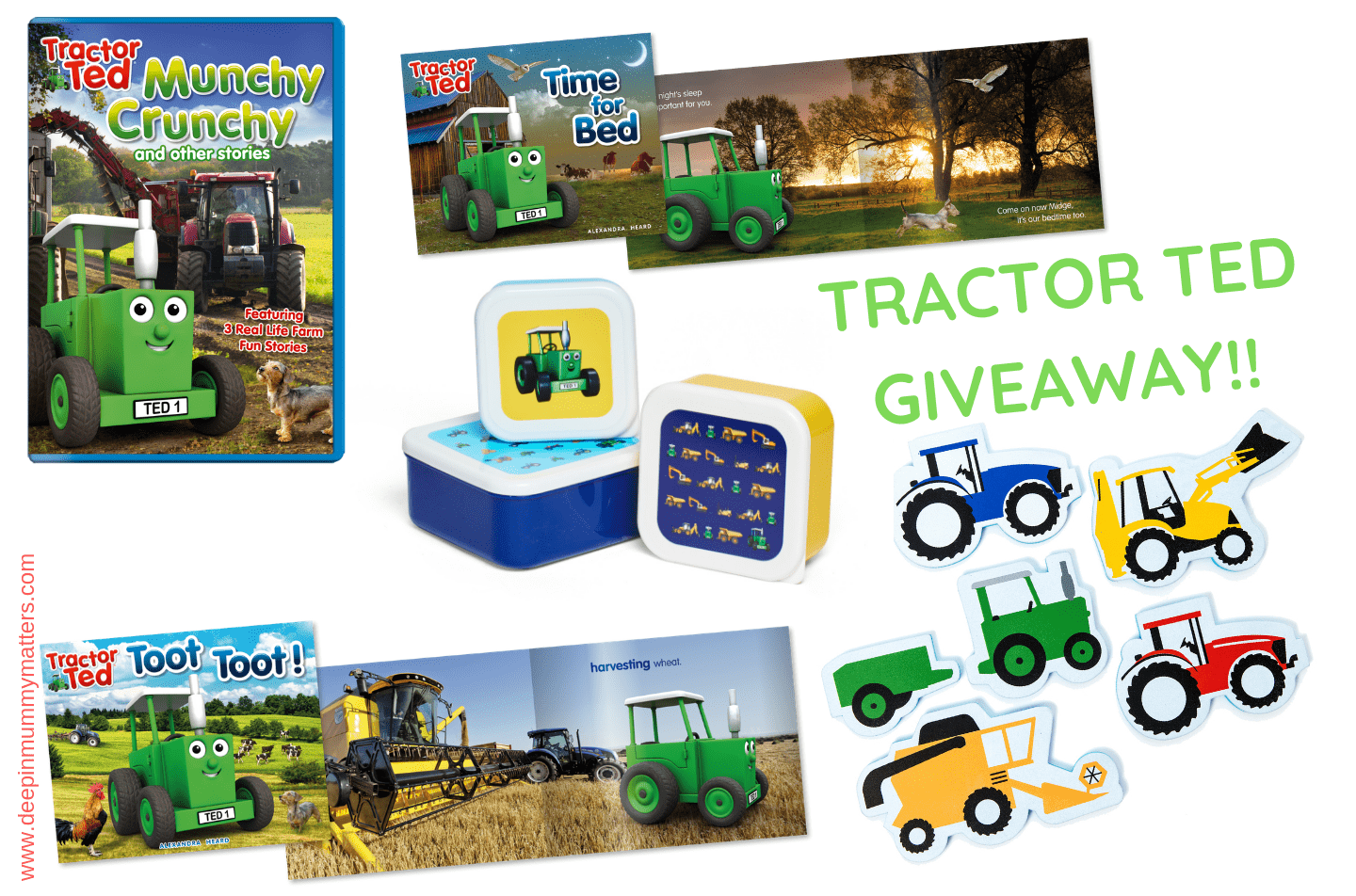 Tractor Ted giveaway