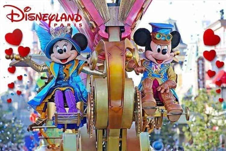 Valentine's Day @ Disneyland Paris £159
