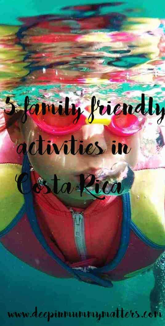 5 family friendly activities in Costa Rica