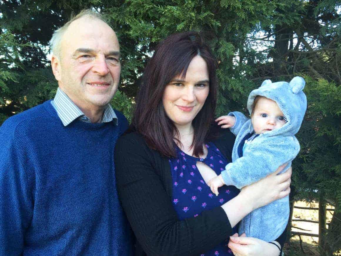 Nozstock Family - Peter Ella and Edie