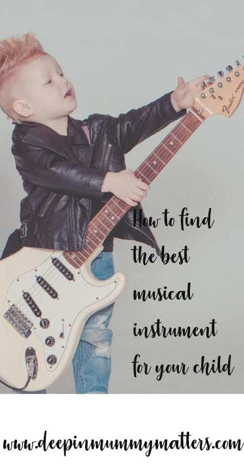How to find the best musical instrument for your child