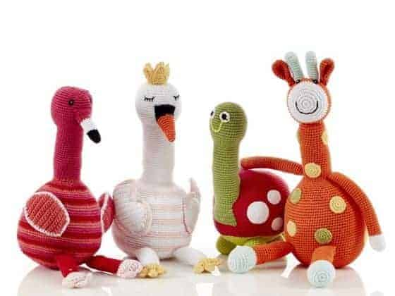 Best friends Knitted toys