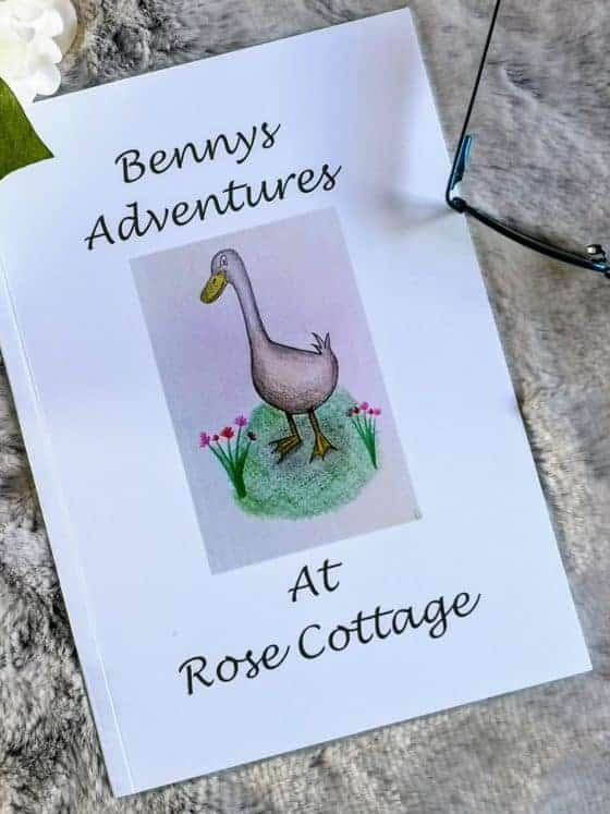 Benny's Adventures at Rose Cottage