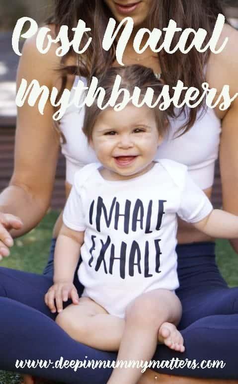 Post natal myth busters
