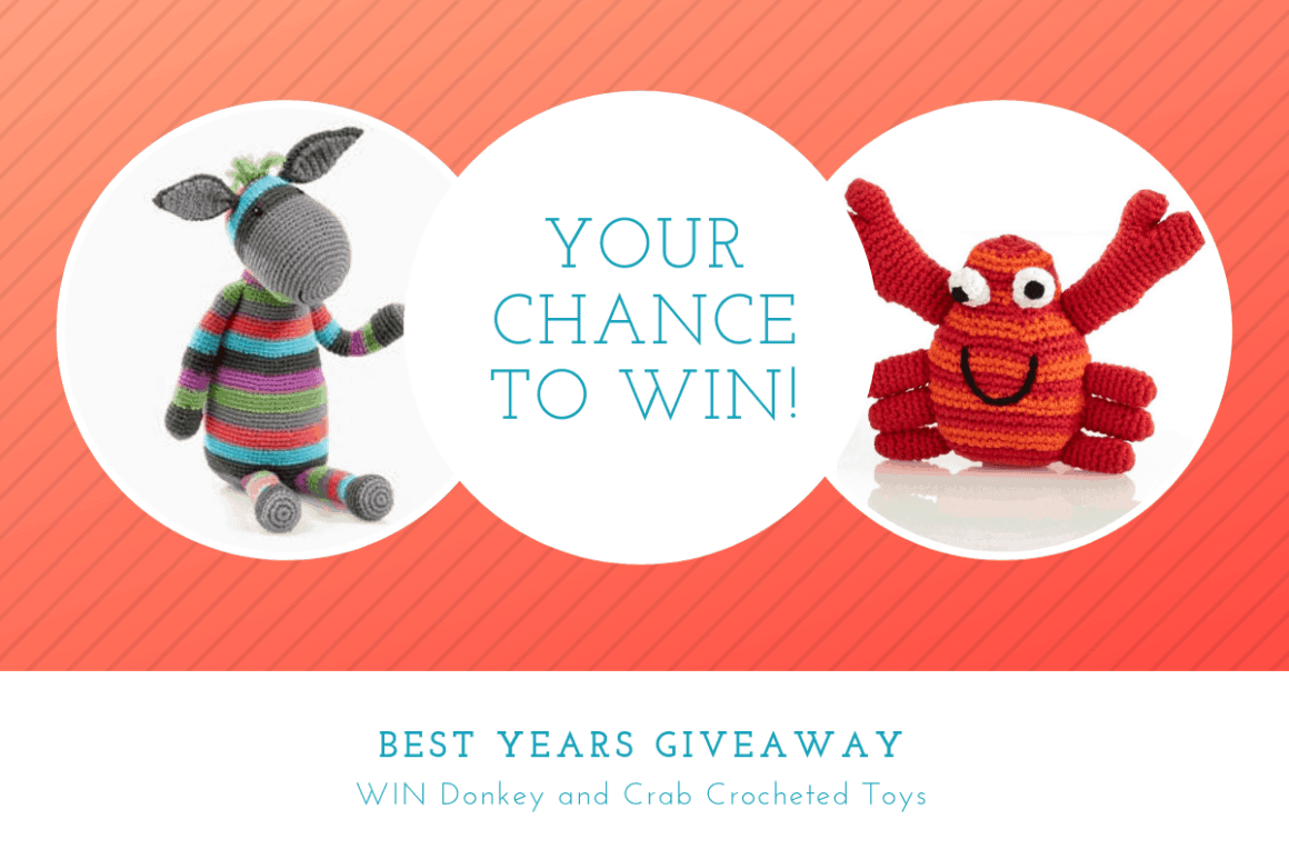 Best Years Crocheted Toys giveaway