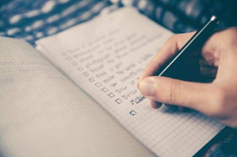 Writing lists