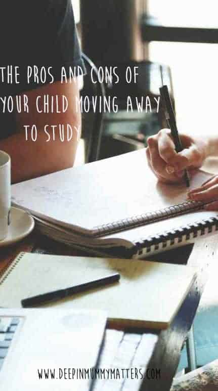Pros and Cons of your child moving away to study