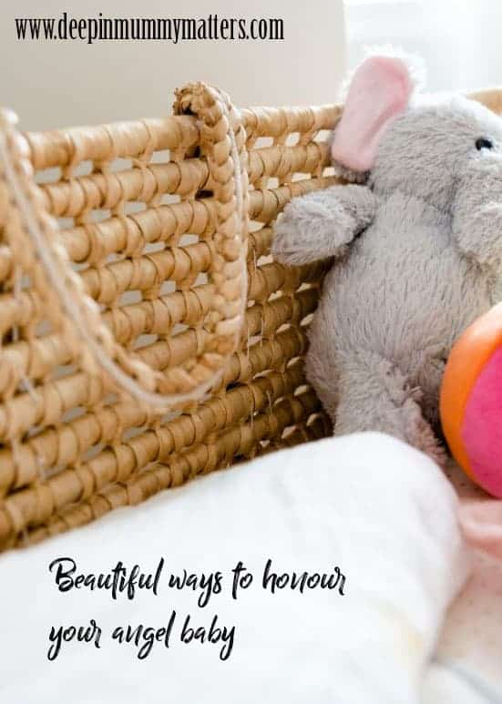 Beautiful ways to honour your angel baby