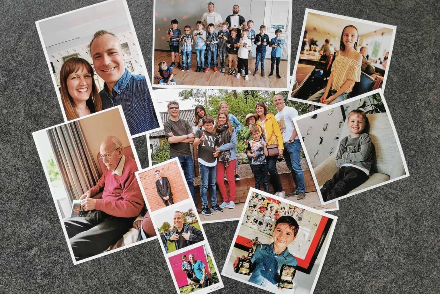 Klikkie photo printing app