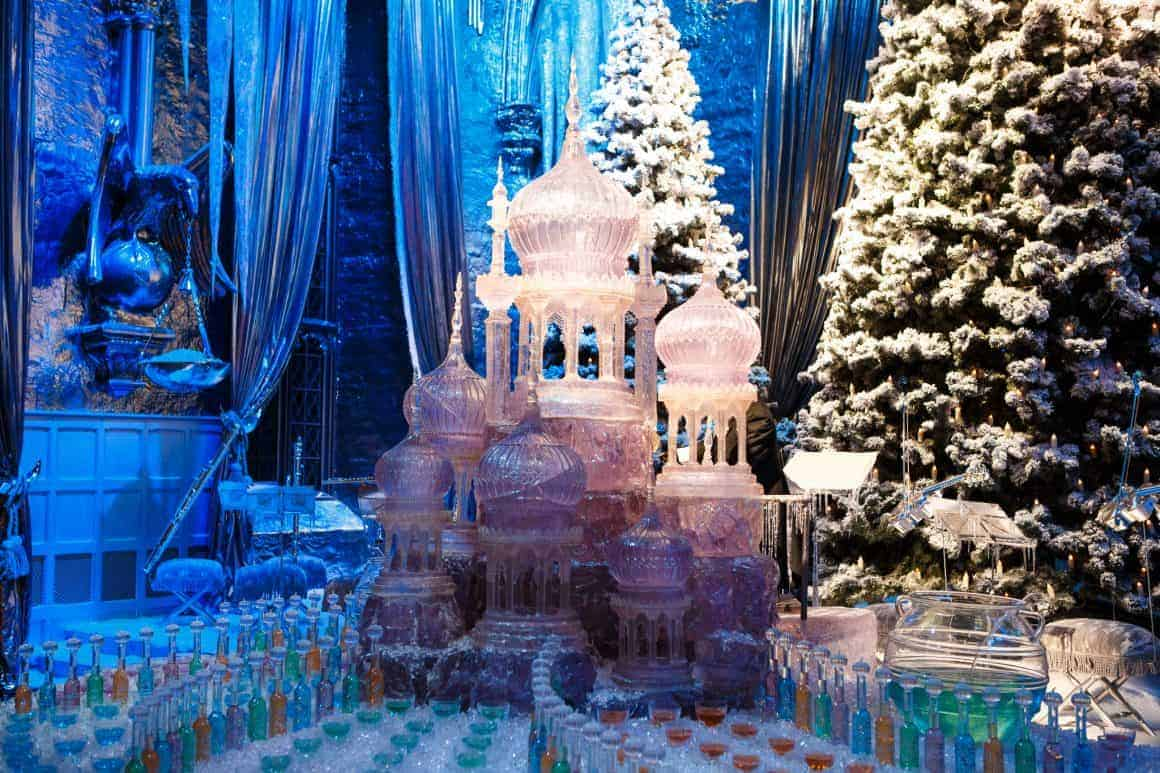 Yule Ball stage in the Great Hall (6)