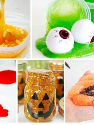 Halloween Slime Tutorials