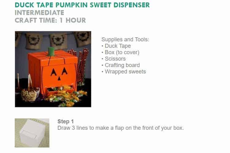 Pumpkin Sweet Dispenser