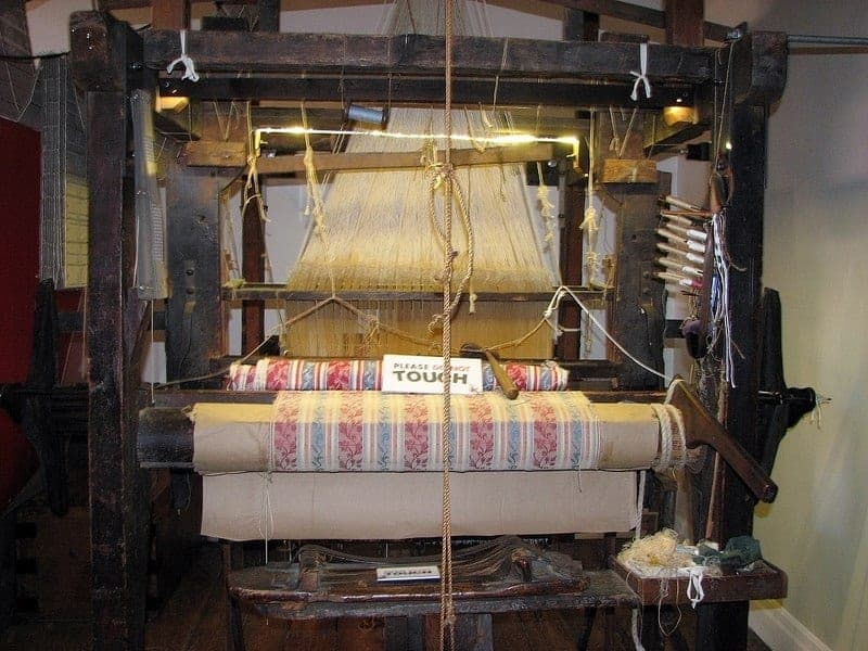 Jacquard Loom, Norfolk Museums