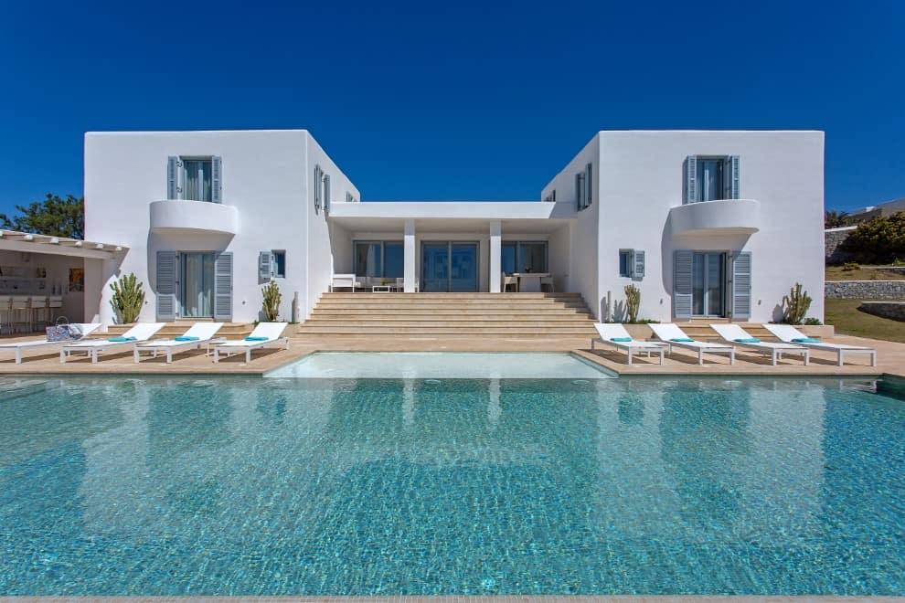 mykonos - villa